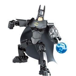 XSZ KSZ 318-1 Xếp hình kiểu Lego TECHNIC Assembled Batman Người Dơi 35 khối