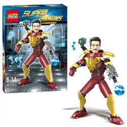 XSZ KSZ 319-3 Xếp hình kiểu Lego TECHNIC Assembled Doll Iron Man Stark 96 khối