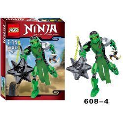 XSZ KSZ 608-4 Xếp hình kiểu Lego MARVEL SUPER HEROES Ninja Thunder Swordsman Lloyd Montgomery Garmadon Build A Doll 90 khối