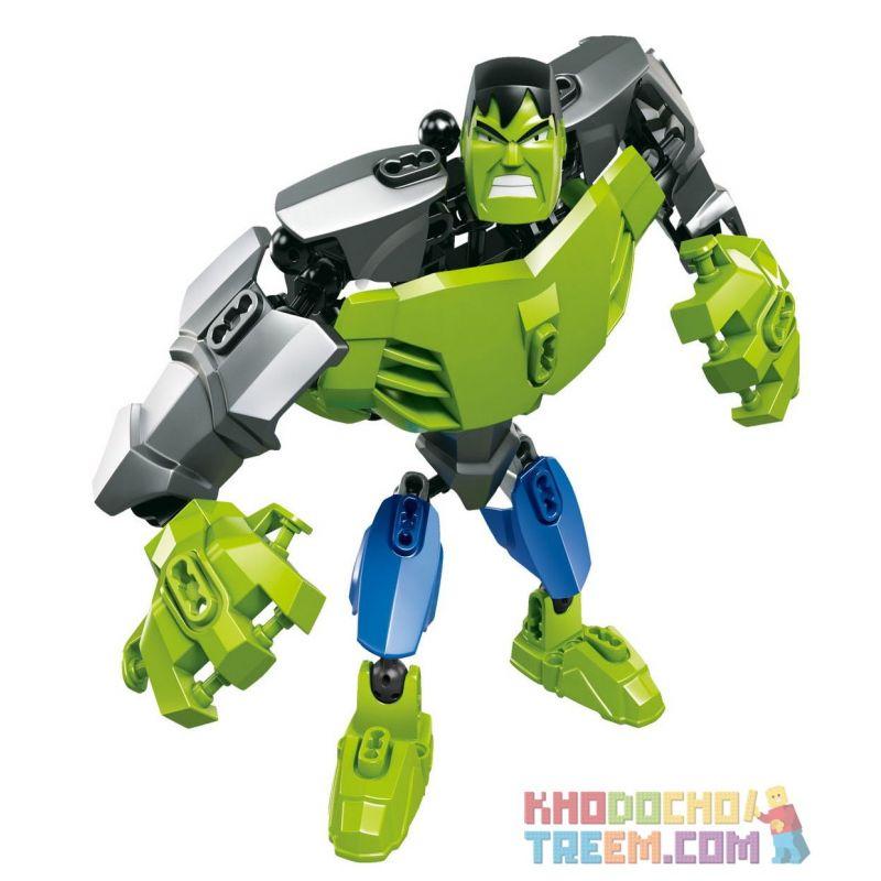 XSZ KSZ 506 Xếp hình kiểu Lego MARVEL SUPER HEROES Hulk 32 khối