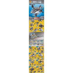 PanlosBrick 633022 633022A 633022B 633022C 633022D 633022E 633022F 633022G 633022H Panlos Brick 633022 633022A 633022B 633022C 633022D 633022E 633022F 633022G 633022H Xếp hình kiểu Lego MILITARY ARMY