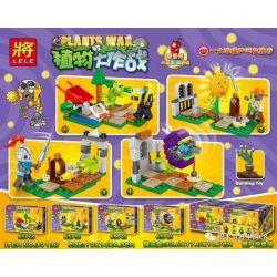 LELE 39138 39138-1 39138-2 39138-3 39138-4 Xếp hình kiểu Lego PLANTS VS ZOMBIES Plants War Plant Big Fight Plant Hunting Field 4 4 Loại Bãi Săn Thực Vật gồm 4 hộp nhỏ 264 khối