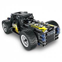 QIHUI 5802 Xếp hình kiểu Lego TECHNIC Classic Car Xe cổ điển 177 khối có động cơ kéo thả