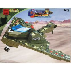Enlighten 0276 Qman 0276 KEEPPLEY 0276 Xếp hình kiểu Lego CENTURY MILITARY Stealth Reconnaissance Aircraft Máy bay trinh sát tàng hình