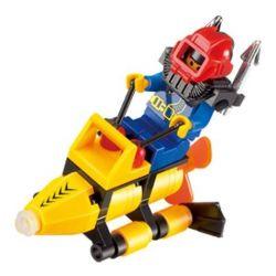 Enlighten 1211 Qman 1211 KEEPPLEY 1211 Xếp hình kiểu Lego CITY Sea Search Tìm kiếm trên biển 29 khối