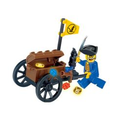 Enlighten 1202 Qman 1202 Xếp hình kiểu Lego PIRATES OF THE CARIBBEAN Pirates BAEBARA Hải Tặc 25 khối