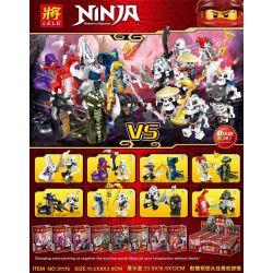 LELE 31176 Xếp hình kiểu THE LEGO NINJAGO MOVIE Ninja Masters Of Spinjitzu 骷髅 Legion Big Warfare Snake Tribe 8 Models Legion Big Warfare Snake Tribe 8 Model