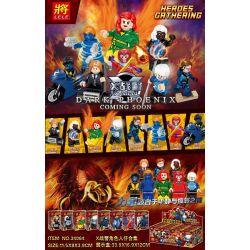 LELE 34064 Xếp hình kiểu Lego SUPER HEROES X-Men Character Minifigure Collection 8 Bộ sưu tập nhân vật X-Men minifigure 8