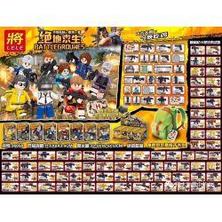 LELE 36058 Xếp hình kiểu Lego COLLECTABLE MINIFIGURES BattleGrounes Jedi Survival Jedi Rescue People 8 Jedi Rescue Minifigure 8 Mô Hình