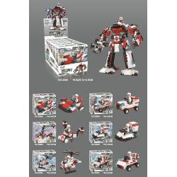 WINNER JEMLOU 5080 5080A 5080B 5080C 5080D 5080E 5080F Xếp hình kiểu Lego GOD OF WAR Pulse God Of War Pulse War, Liuhe One Machine gồm 6 hộp nhỏ