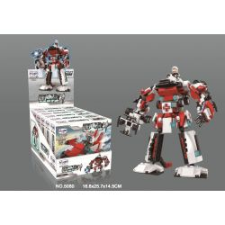 WINNER JEMLOU 5080 5080A 5080B 5080C 5080D 5080E 5080F Xếp hình kiểu Lego GOD OF WAR Impulse God Of War Six In One Mech Impulse God of War Six in One Mech gồm 6 hộp nhỏ