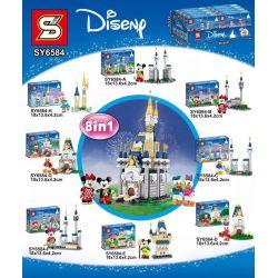 SHENG YUAN SY 6584 SY6584 6584 SY6584-A 6584-A SY6584-B 6584-B SY6584-C 6584-C SY6584-D 6584-D SY6584-E 6584-E SY6584-F 6584-F SY6584-G 6584-G SY6584-H 6584-H Xếp hình kiểu Lego DISNEY PRINCESS 8 Disn