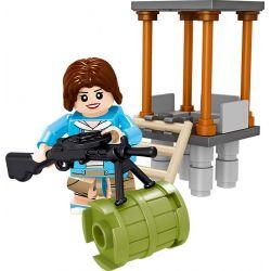 LELE 36057 Xếp hình kiểu Lego COLLECTABLE MINIFIGURES BattleGrounes Jedi Survival Extreme Battlefield Person 8 Người Chiến Trường Cực đoan 8