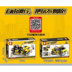 SEMBO 701201 Xếp hình kiểu Lego TECHNIC Double Drum Roller Con lăn trống đôi 235 khối