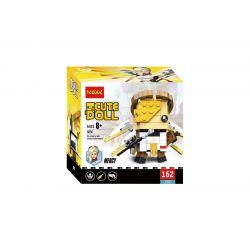 Decool 6856 Jisi 6856 Xếp hình kiểu Lego BRICKHEADZ CuteDoll Mercy Overwatch Square Head Boy Angel Thiên Thần 162 khối