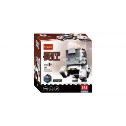 Decool 6857 Jisi 6857 Xếp hình kiểu Lego BRICKHEADZ Winston 161 khối