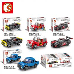 SEMBO 607021 Xếp hình kiểu Lego SPEED CHAMPIONS 607021 175 khối