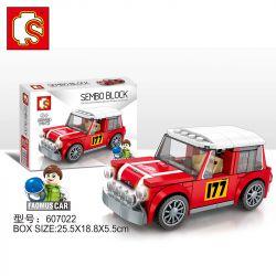 SEMBO 607022 Xếp hình kiểu Lego SPEED CHAMPIONS BMW MINI 173 khối