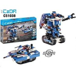 DOUBLEE CADA C51038 51038 Xếp hình kiểu Lego TECHNIC King Of The Hill 2in1 Two Changes King of the hill 2in1 hai thay đổi lắp được 2 mẫu