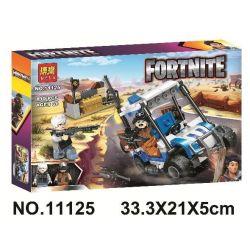 Bela 11125 Lari 11125 Xếp hình kiểu Lego FORNITE Fort Night Đêm pháo đài 190 khối