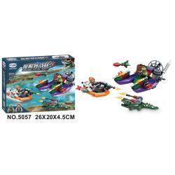 Winner 5057 Xếp hình kiểu Lego SWAT SPECIAL FORCE Crocodile Special Forces Magic Crocodile 5057 Đội đặc Biệt Quỷ 5057