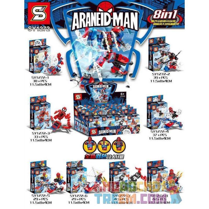 SHENG YUAN SY 1272 SY1272 1272 SY1272-1 1272-1 SY1272-2 1272-2 SY1272-3 1272-3 SY1272-4 1272-4 SY1272-5 1272-5 SY1272-6 1272-6 SY1272-7 1272-7 SY1272-8 1272-8 Xếp hình kiểu Lego SUPER HEROES Araneid-M