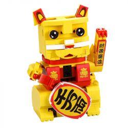 DOUBLEE CADA C51037 51037 Xếp hình kiểu Lego TECHNIC Lucky Cat Con mèo may mắn