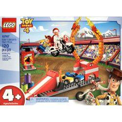 NOT Lego TOY STORY 10767 Duke Caboom's Stunt Show, LEPIN 16065 Xếp hình Chương trình đóng thế của Duke Caboom 120 khối