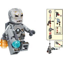 LELE 34095 Xếp hình kiểu Lego SUPER HEROES The Avengers 4 Character Minifigure Collection 16 Models Bộ Sưu Tập 16 Mô Hình Nhân Vật Avengers 4