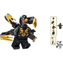 LELE 34095 Xếp hình kiểu Lego SUPER HEROES Avengers Bộ sưu tập 16 mô hình nhân vật Avengers 4