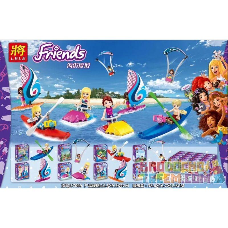 LELE 37099 Xếp hình kiểu Lego FRIENDS Good Friend Seaside Holiday 8 Kỳ Nghỉ Bên Bờ Biển 8 Kiểu