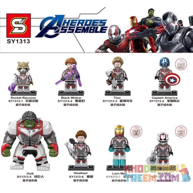 SHENG YUAN SY 1313 SY1313 1313 SY1313-1 1313-1 SY1313-2 1313-2 SY1313-3 1313-3 SY1313-4 1313-4 SY1313-5 1313-5 SY1313-6 1313-6 SY1313-7 1313-7 SY1313-8 1313-8 Xếp hình kiểu Lego MARVEL SUPER HEROES Th