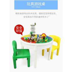DR.LUCK 68012 WANGE 68012 Xếp hình kiểu Lego BASIC Building Blocks Table&300pcs Basic Building Blocks Study Desk +300 Bàn Học +300 300 khối