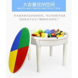 WANGE 68012 Xếp hình kiểu Lego BASIC Study Desk +300 Bàn học +300 300 khối