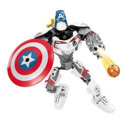 XSZ KSZ 330 330-1 330-2 330-3 330-4 Xếp hình kiểu Lego MARVEL SUPER HEROES Quantum Suit Bộ đồ lượng tử gồm 4 hộp nhỏ