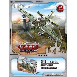 CAYI 2015 Xếp hình kiểu Lego NUCLEAR WAR Nuclear War Máy bay trinh sát Yak X 183 khối