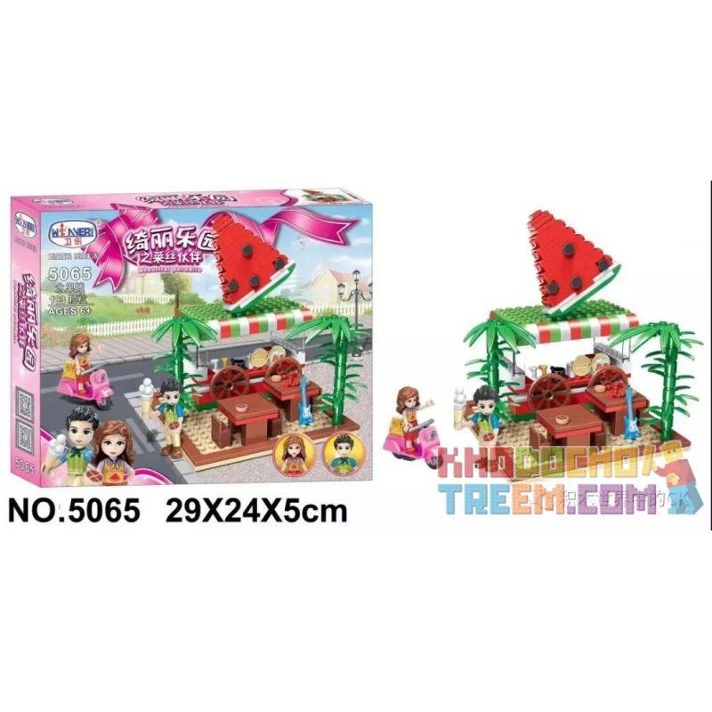 Winner 5065 Xếp hình kiểu Lego FRIENDS Lissee Partner Of Beauty Paradise Fruit Stall Quầy Bán Hoa Quả 183 khối