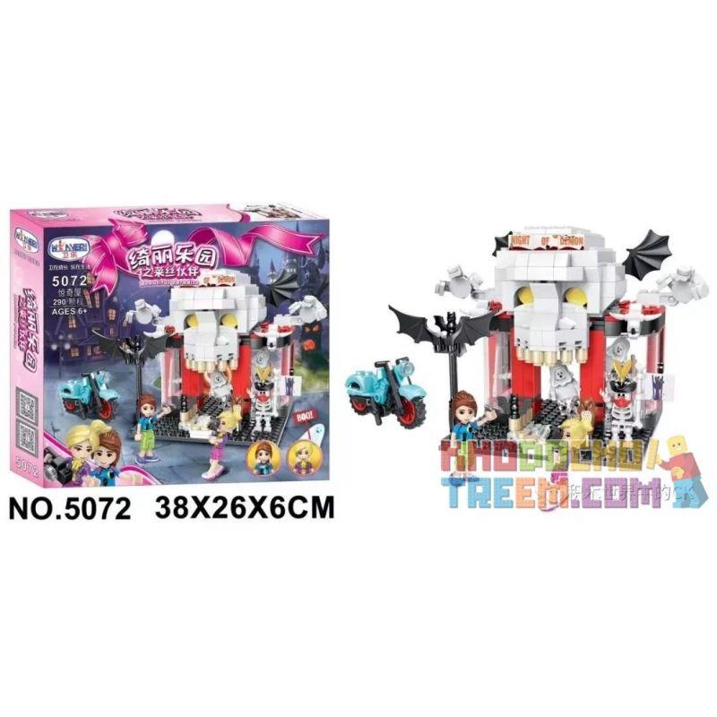 Winner 5072 Xếp hình kiểu Lego FRIENDS Lissee Partner Of Beauty Paradise Surprise House Ngôi Nhà Bất Ngờ 290 khối