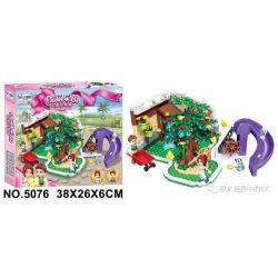Winner 5076 Xếp hình kiểu Lego FRIENDS Flower Shop cửa hàng hoa 280 khối