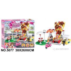 Winner 5077 Xếp hình kiểu Lego FRIENDS Pizza House 290 khối