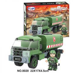 Winner 8020 Xếp hình kiểu Lego TANK BATTLE TankBattle Xe bồn 91 khối