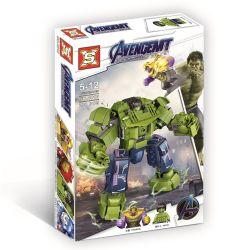 SX 4010 Xếp hình kiểu Lego MARVEL SUPER HEROES Hulk Mecha Vs Thanos Hulk Mecha vs Thanos 288 khối