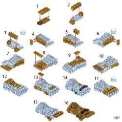 LELE D067 Xếp hình kiểu Lego MARVEL SUPER HEROES Infinite Gloves Găng tay vô hạn