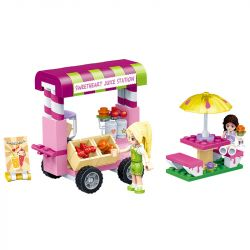 GUDI 9602 Xếp hình kiểu Lego MODERN GIRLS Modern Girls Juice Shop Gina's Sweetheart Juice Nước Ngọt Của Gina's Sweet 120 khối