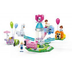 GUDI 9612 Xếp hình kiểu Lego MODERN GIRLS Modern Girls Rotating Animals Động Vật Quay 299 khối