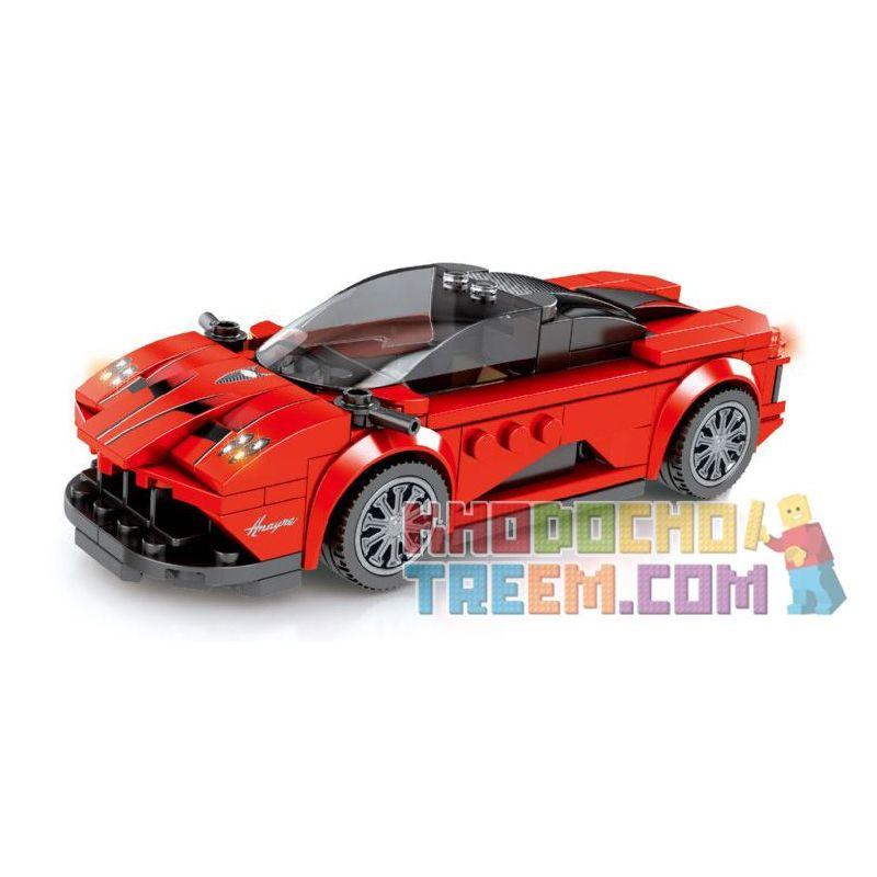 SEMBO 607028 Xếp hình kiểu Lego SPEED CHAMPIONS Pagani Huayra 185 khối