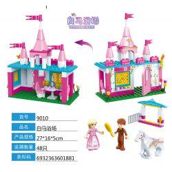 GUDI 9010 Xếp hình kiểu Lego ALICE PRINCESS Hakuba Bath Phòng tắm Hakuba 149 khối