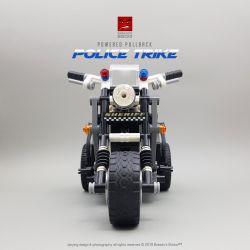 Decool 3802 Jisi 3802 Xếp hình kiểu Lego TECHNIC Motorcycle xe máy 282 khối có động cơ kéo thả