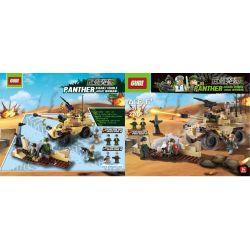 GUDI 6019 Xếp hình kiểu Lego MILITARY ARMY Armed Assault Series Loạt tấn công có vũ trang 270 khối