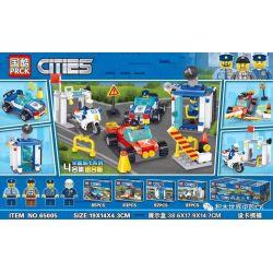 PRCK 65005 Xếp hình kiểu Lego CITY Set Up Cards To Capture 4 Combinations Thiết lập thẻ để nắm bắt 4 kết hợp